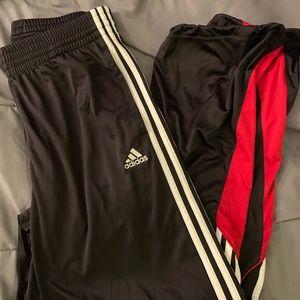 Adidas track pants ( size medium)